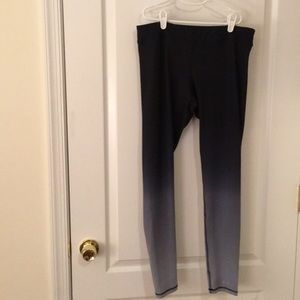 Large spandex leggings